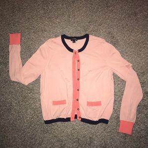 Flamingo pink sweater NWOT